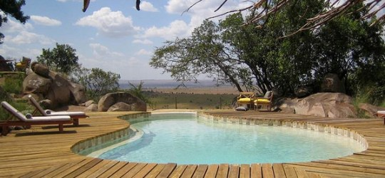 Tanzania Safari Lodge Lamai Pool