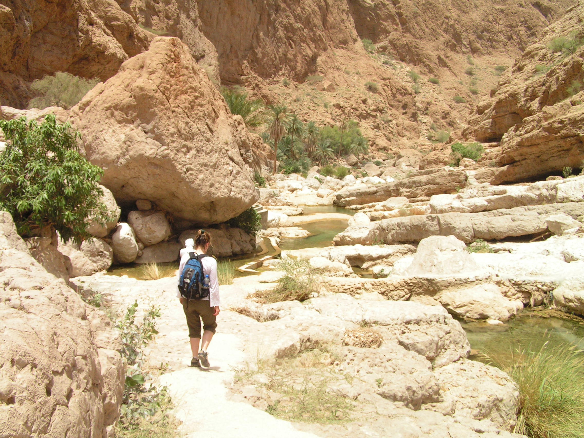 Trekking Oman