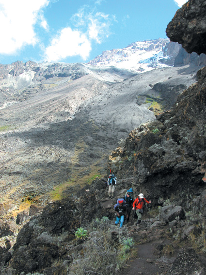 Kilimanjaro Lemosho Route Barranco