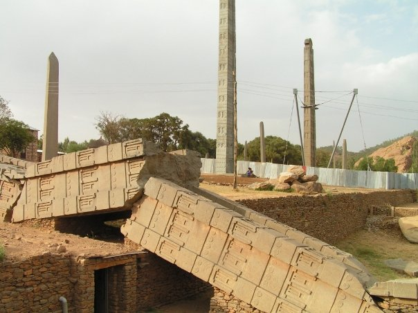 Ethiopia Historic Route stelae