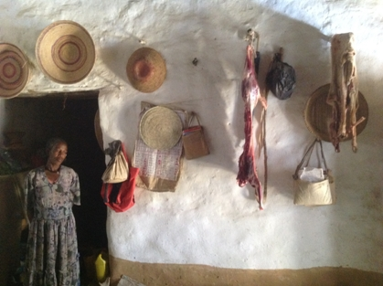 Interior of the Ethiopian house
