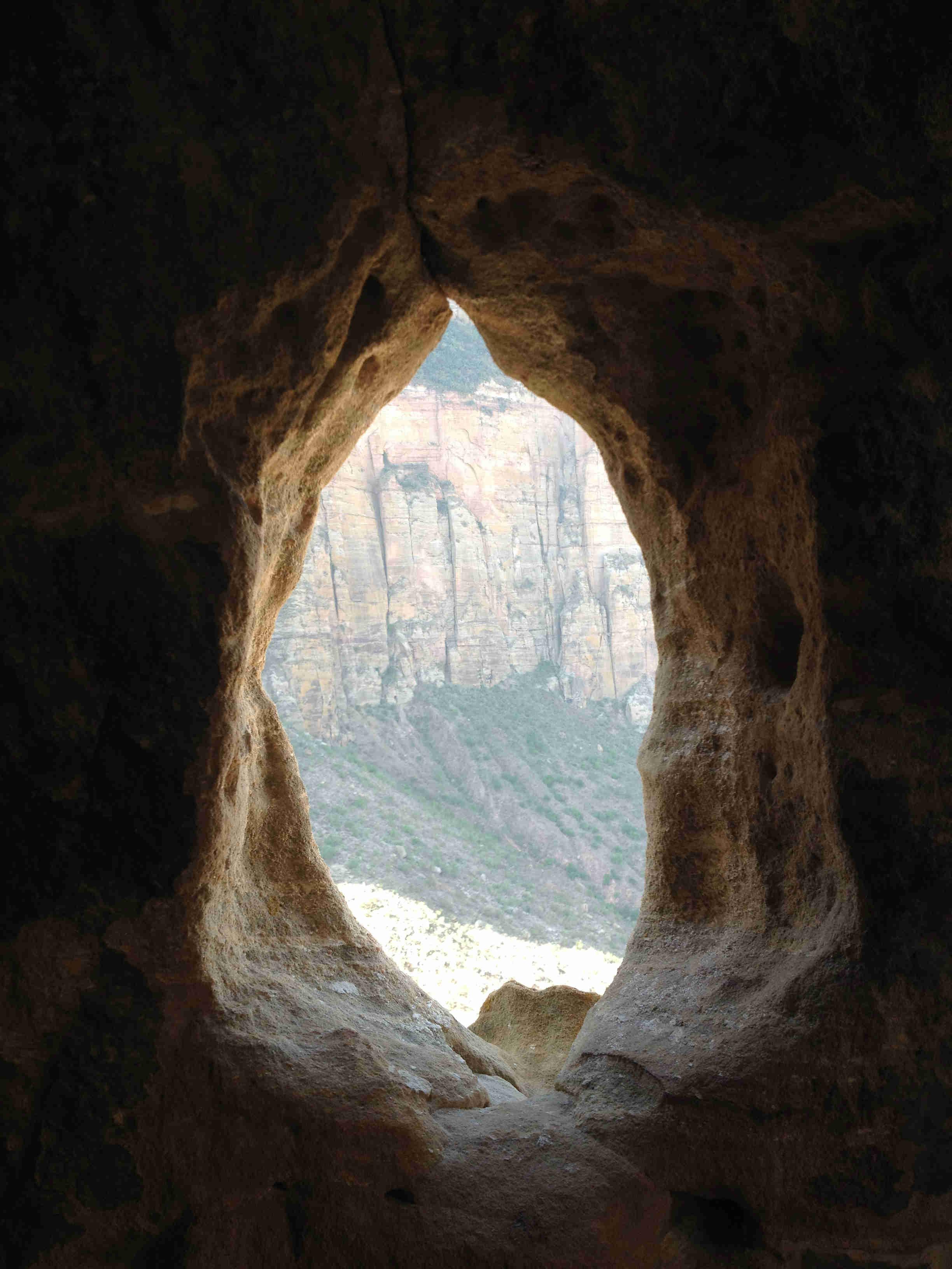 Abune Yemata cave church Geralta Tigray Ethiopia 2