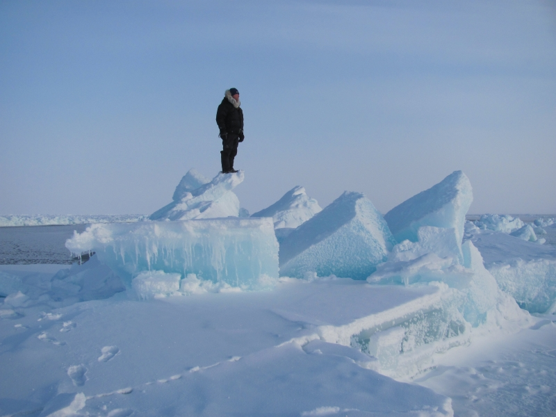 Small group adventure holiday Arctic