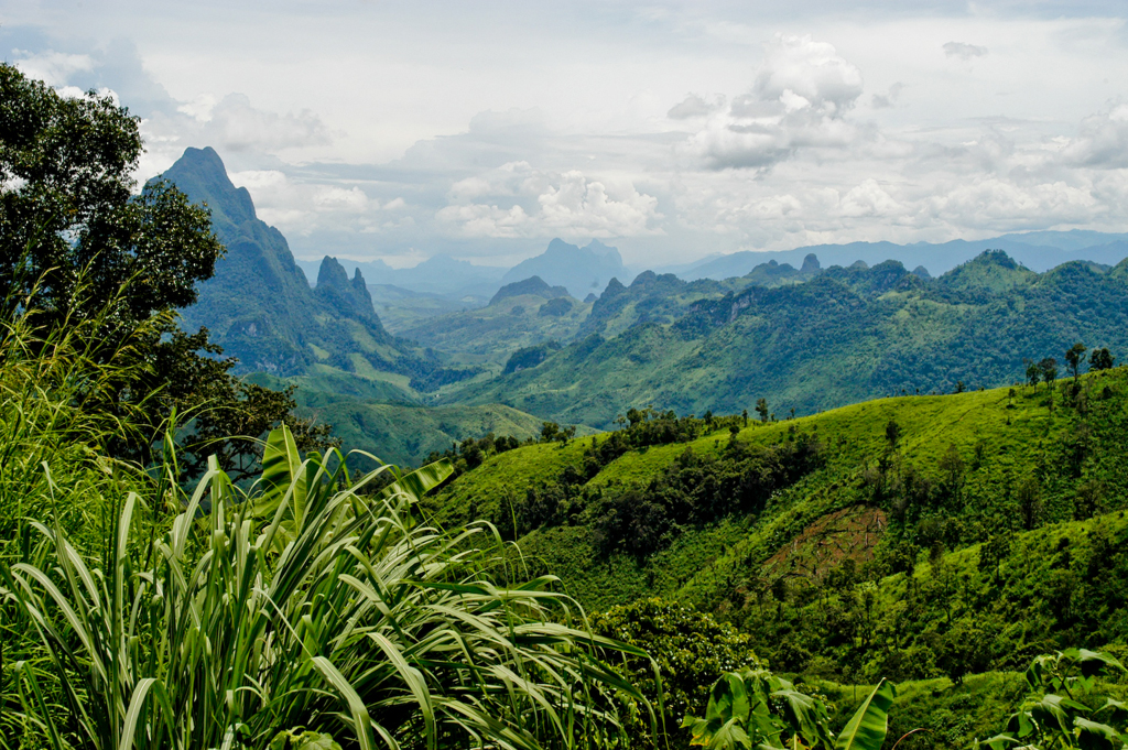 Trekking in Laos