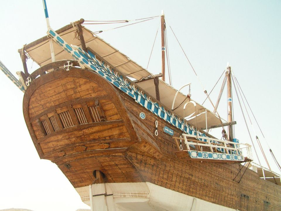 Dhow adventure holiday in Oman