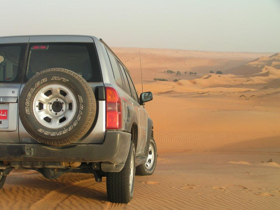 4wd adventure holiday in Oman