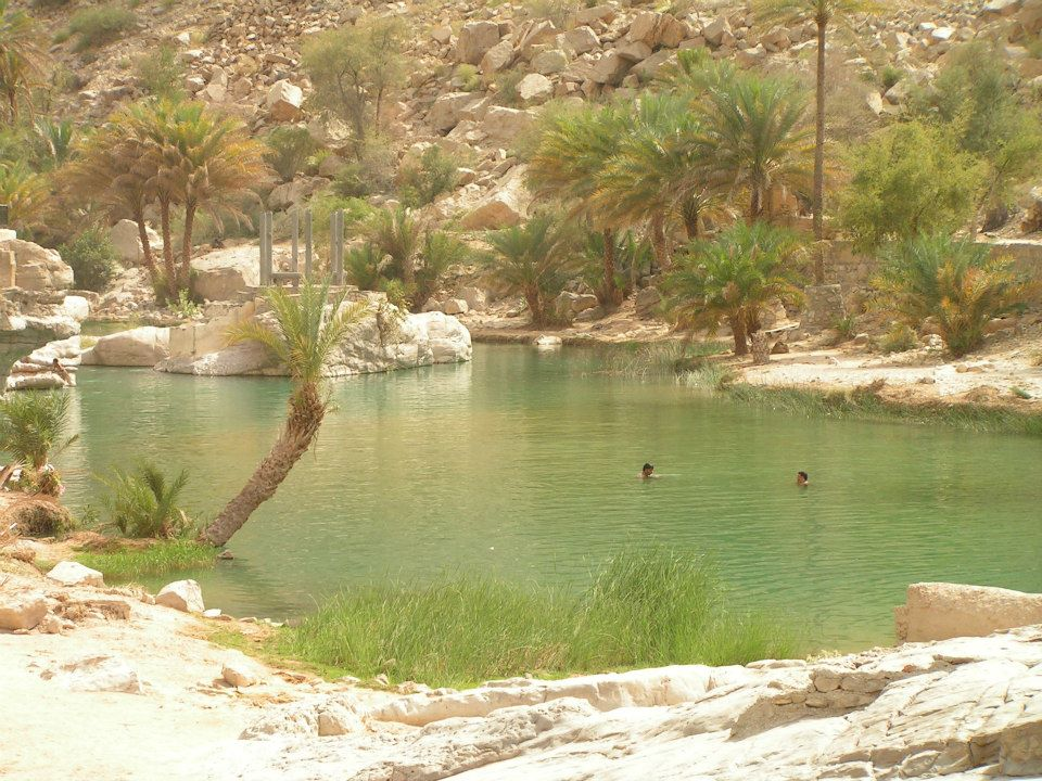 wadi adventure holiday in Oman