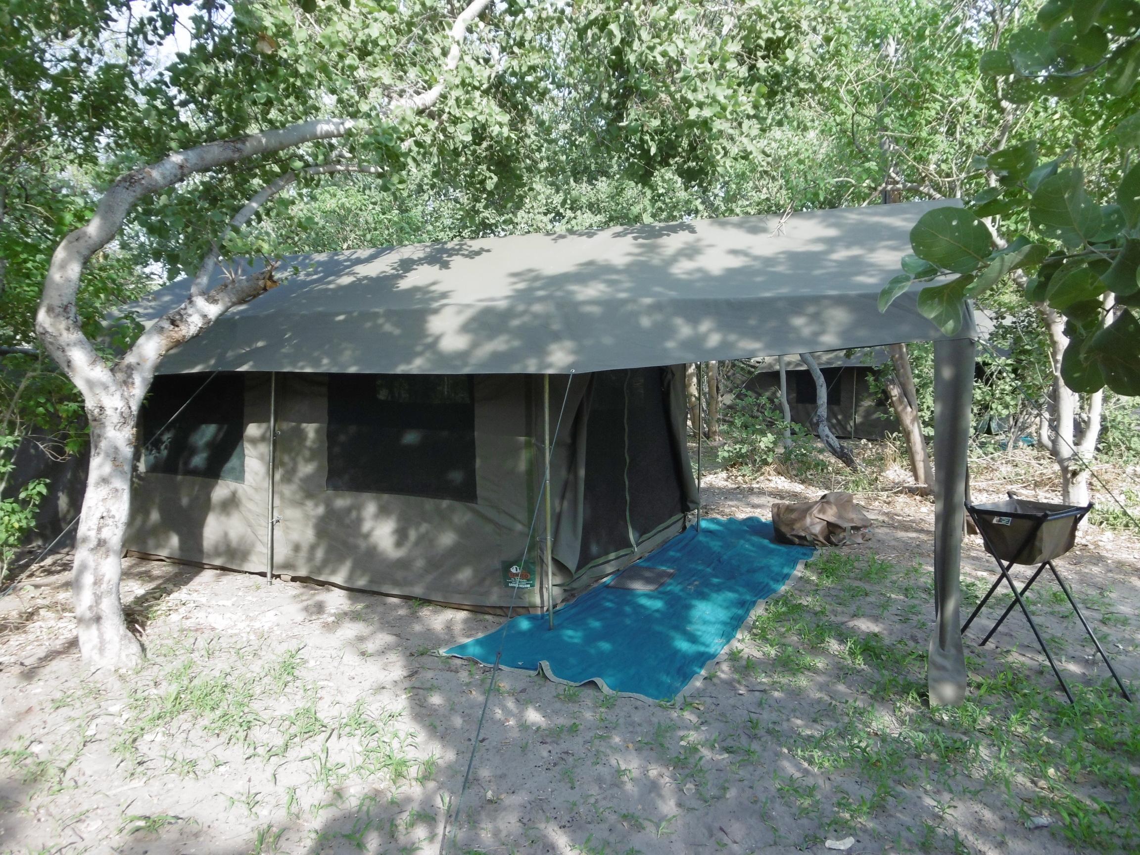 Botswana Mobile Camping safari tent
