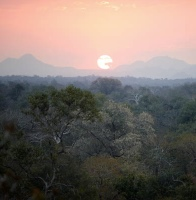 Majete Reserve, Malawi, at sunset