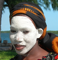 Makua girl on Ibo island