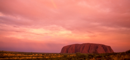 Australia sights - Uluru/Ayers Rock in the Red Centre