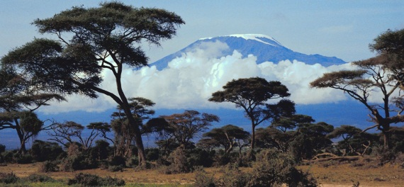 Kilimanjaro from the west