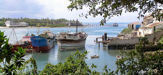 Harbour at Mombasa, Kenya