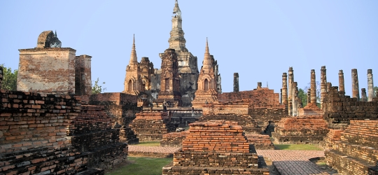 Central Thailand  Sukhothai, Ayutthaya