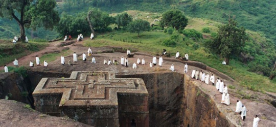 Ethiopia home of Lalibela, Axum, Gondar and the Simiens