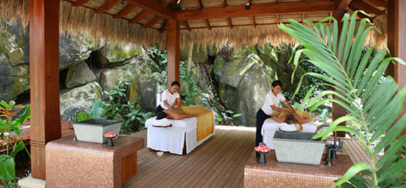 Maia luxury resort and spa mahe island seychelles for Villa de jardin mahe seychelles