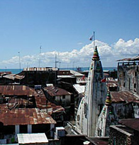 Stone Town as seen from 236 Hurumzi